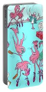 Flamingo A Go Go Portable Battery Charger
