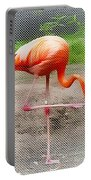Flamingo Four Portable Battery Charger