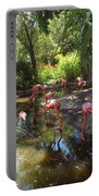 Flamingo Land Portable Battery Charger