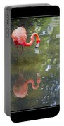 Flamingo Reflected Portable Battery Charger