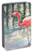 Flamingo Time Portable Battery Charger