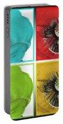 Flanders Poppy Pop Art Portable Battery Charger