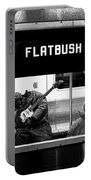 Blues Guitarist Heading To Flatbush  Portable Battery Charger