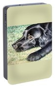 Flat Coated Retriever Portable Battery Charger