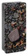Flat Skipping Stones Portable Battery Charger