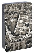 Flatiron Building - New York City Portable Battery Charger