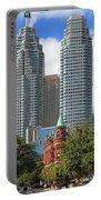Flatiron Building Toronto 2 Portable Battery Charger