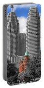 Flatiron Building Toronto 2c Portable Battery Charger