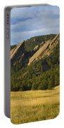 Flatiron Morning Light Boulder Colorado Portable Battery Charger