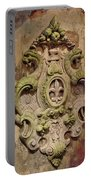 Fleur D Lis Wall Relief Portable Battery Charger