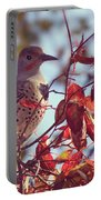 Flicker In Autumn Portable Battery Charger