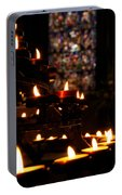 Flickering Prayers Portable Battery Charger