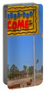 Flinstones Bedrock City In Arizona Portable Battery Charger