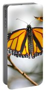 Flirting Monarch Portable Battery Charger