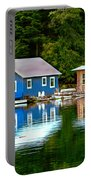 Floating Cabin Portable Battery Charger