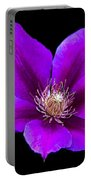 Floating Clematis Portable Battery Charger