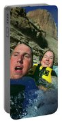 Floating Down The Little Colorado River Portable Battery Charger