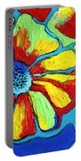 Floating Flowers Portable Battery Charger