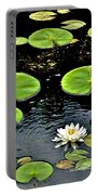 Floating Lily Portable Battery Charger