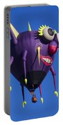 Floating Purple People Eater Portable Battery Charger