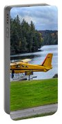 Floatplane In Fall Portable Battery Charger