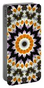 Flora Kaleidoscope Portable Battery Charger
