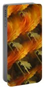 Floral Abstract 2 Portable Battery Charger