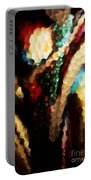 Floral Abstract I Portable Battery Charger