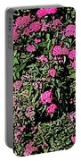 Floral Afternoon Portable Battery Charger