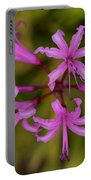 Floral Anemones Portable Battery Charger