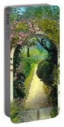 Floral Arch And Path Portable Battery Charger