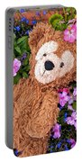 Floral Bear Portable Battery Charger
