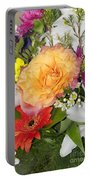 Floral Bouquet 3 Portable Battery Charger