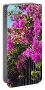 Floral Cascade Portable Battery Charger