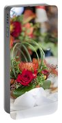 Floral Centerpiece Portable Battery Charger