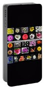 Floral Composite Not For Sale Portable Battery Charger