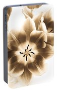 Floral Delight Portable Battery Charger