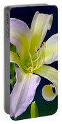 Floral Fanfare Portable Battery Charger