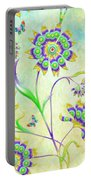 Floral Flirty And Fun  Portable Battery Charger