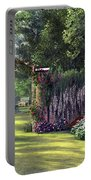 Floral Garden Portable Battery Charger