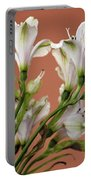 Floral Highlights Portable Battery Charger