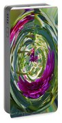 Floral Illusion 1 Portable Battery Charger