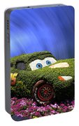 Floral Lightning Mcqueen Portable Battery Charger