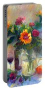 Floral Paintings Fp18 Portable Battery Charger