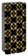 Floral Pattern Portable Battery Charger