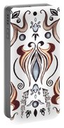 Floral Pattern II Portable Battery Charger