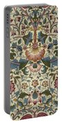 Floral Pattern Portable Battery Charger by William Morris