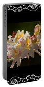 Floral Photomontage 1 Portable Battery Charger