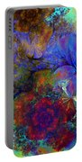 Floral Psychedelic Portable Battery Charger