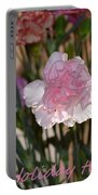 Floral Standout Portable Battery Charger